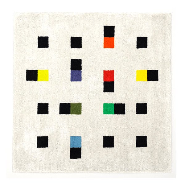 Max Bill Rug [colorful accents] 1600mm