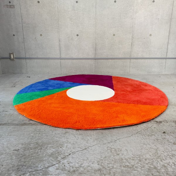 Max Bill Rug [Color Wheel] φ1800mm