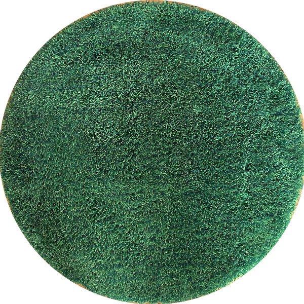 Basic Rug / Green Mix Round