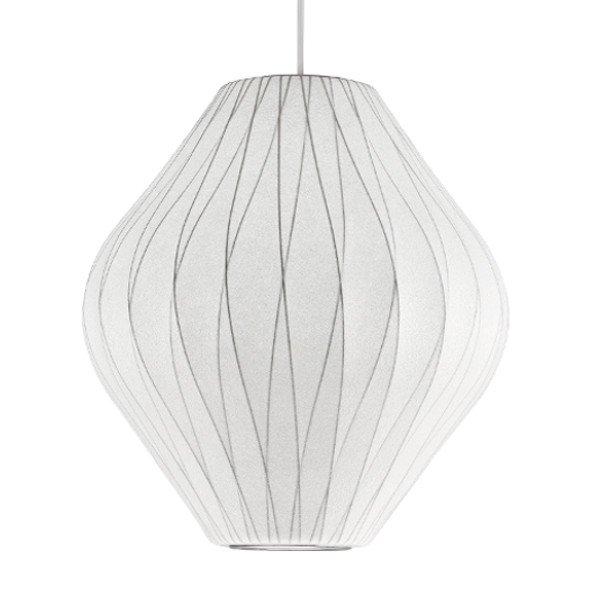 Bubble Lamp Crisscross Pear