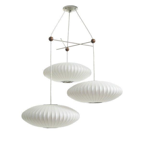 Triple Bubble Lamp Fixture