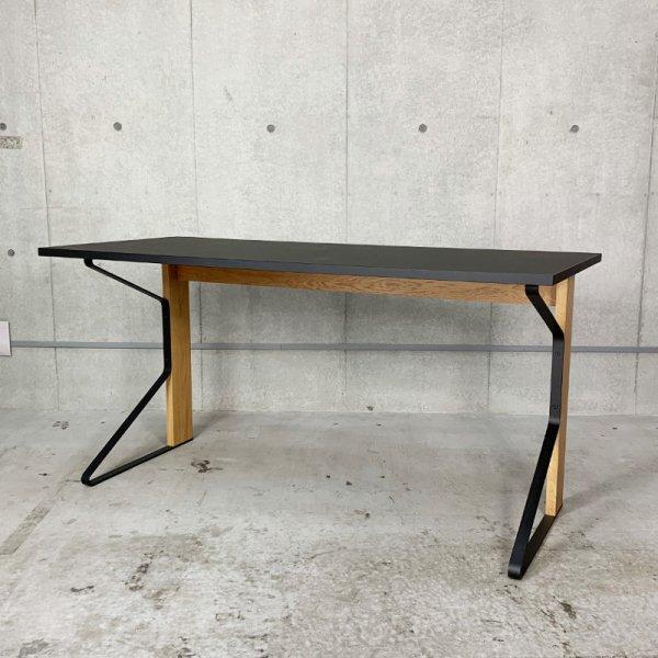 Kaari Desk (REB005)/ブラックリノリウム