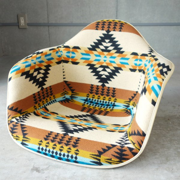 Arm Shell with Pendleton Fabric