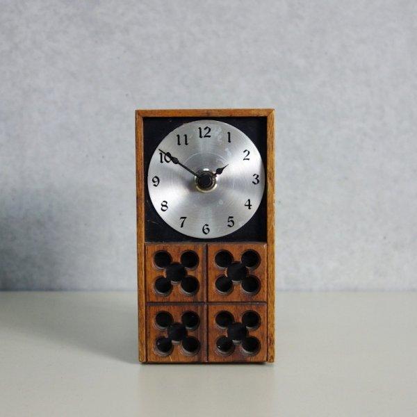 Meridian Wood Table Clock Model No.573