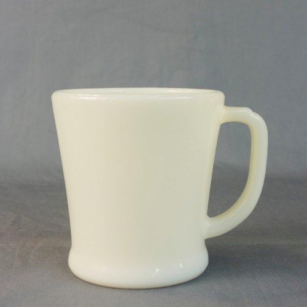 Fire-king D-Handle Mug (Flat Bottom)