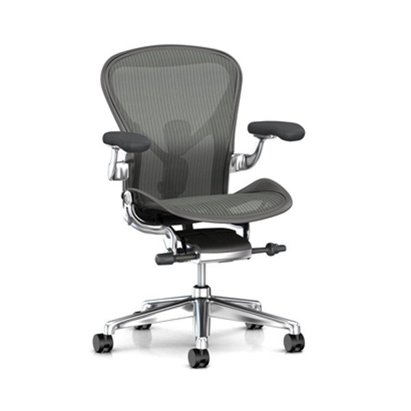 Aeron Chair Remastered Carbon Frame / Polished Aluminum Base