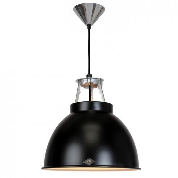 Titan Size 1 Pendant Light (Matte Black・White/Black)