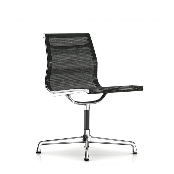 Eames Aluminum Group Side Chair /  Cygnus