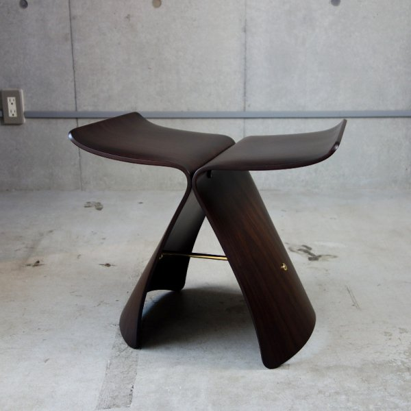 Butterfly Stool / Rose Wood