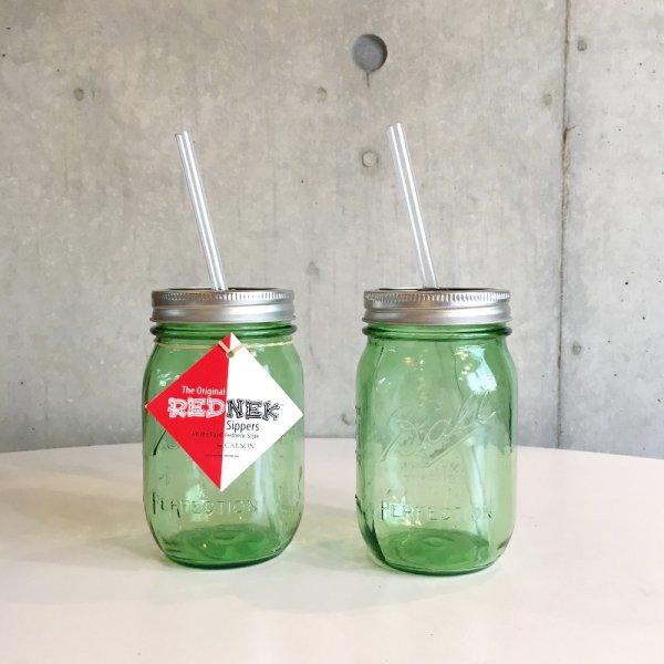 Rednek / Sipper Green Set of 2