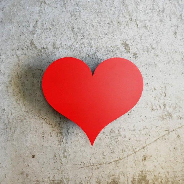 Metal Wall Relief / Little Heart