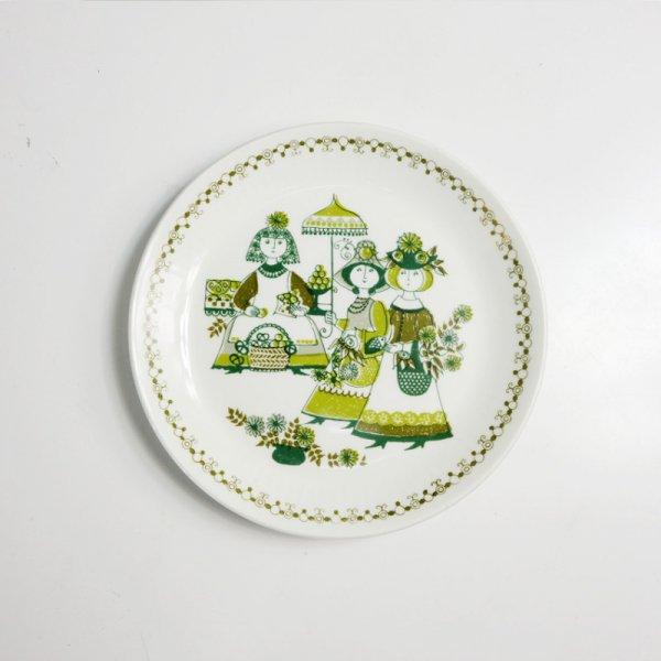 "Figgjo ""Market"" /  Dessert Plate"