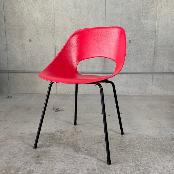 Tulip Chair (FRP) / Pink
