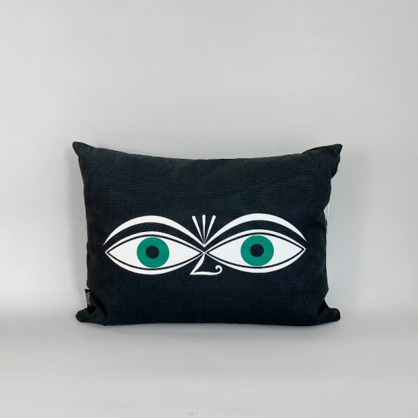 Graphic Print Pillows / Eyes