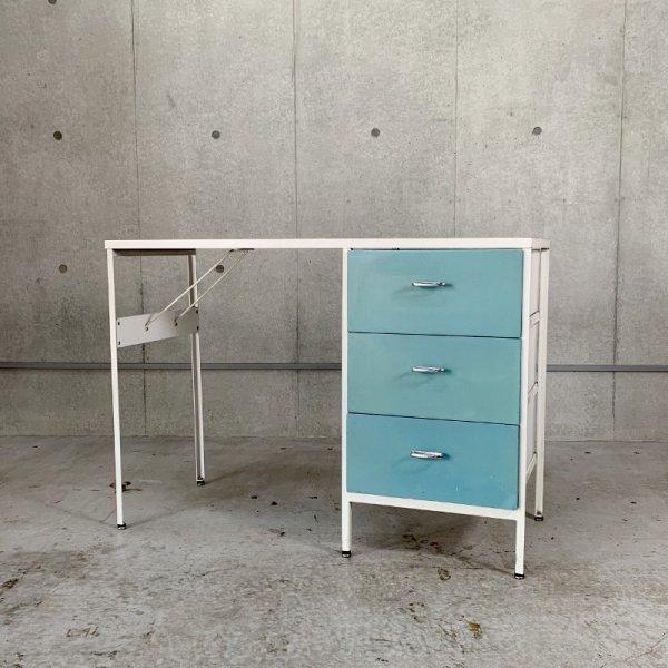 Steel frame Case Group Desk #4112