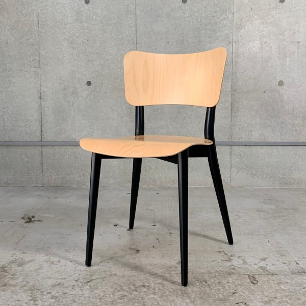 Cross Frame Chair / Natural x Black