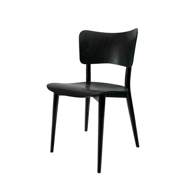 Cross Frame Chair / Black