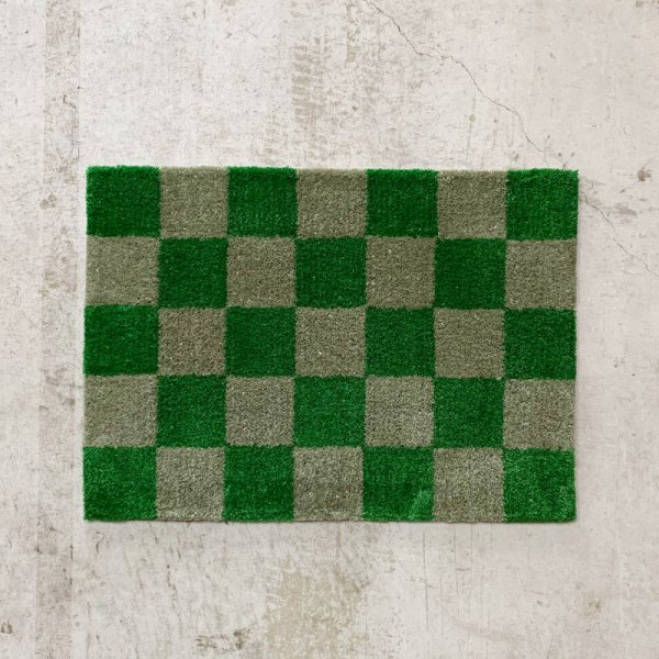 Original Rug / Block(Green x Grey)