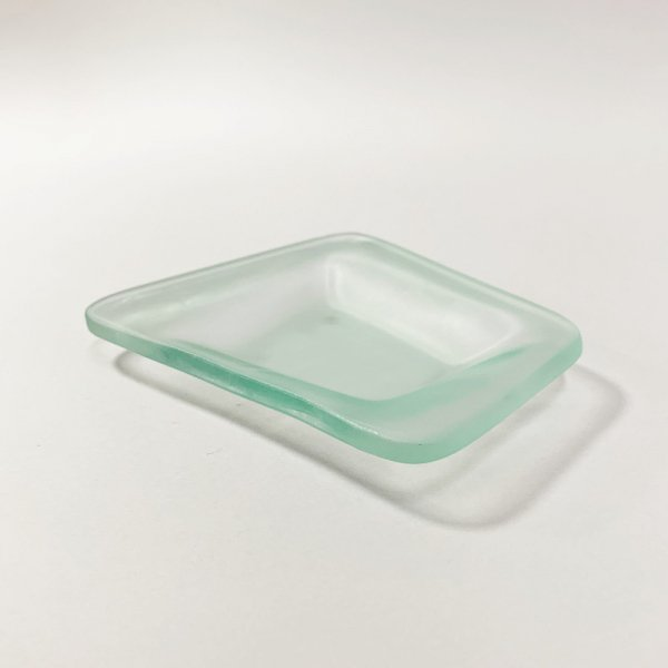Higgins Glass / Four Side Dish / #22