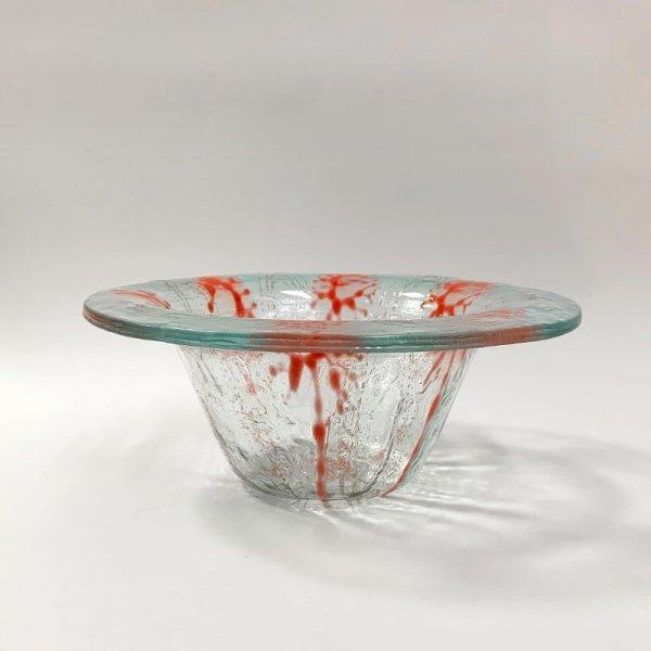 Higgins Glass / Coral Pattern Bowl / #27