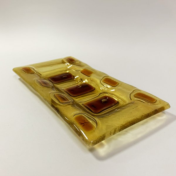 Higgins Glass / Rectangular Dish / #23