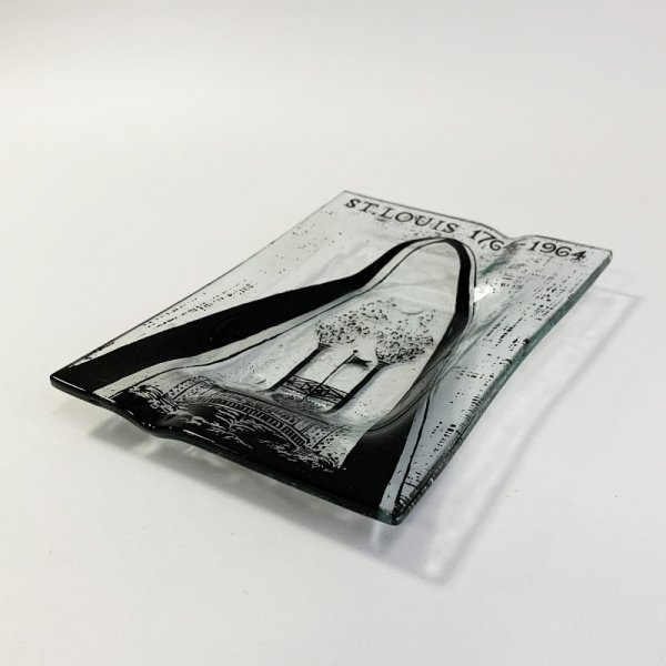 Higgins Glass / Rectangular Ash Tray / #79