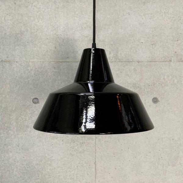 Enamel Pendant Lamp / Louis Poulsen