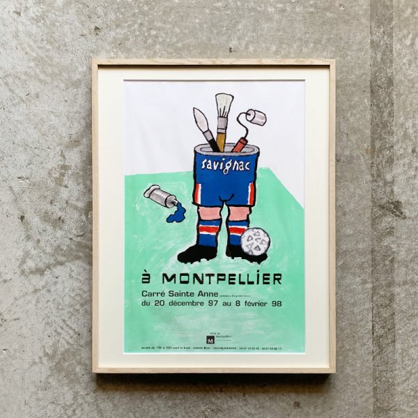 Raymond Savignac Poster / Montpellier 1997