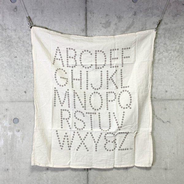 Tea Towel / Alphabet