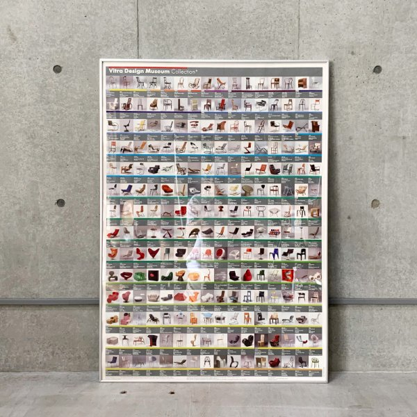 Vitra Design Museum The Chair Collection Poster / Used