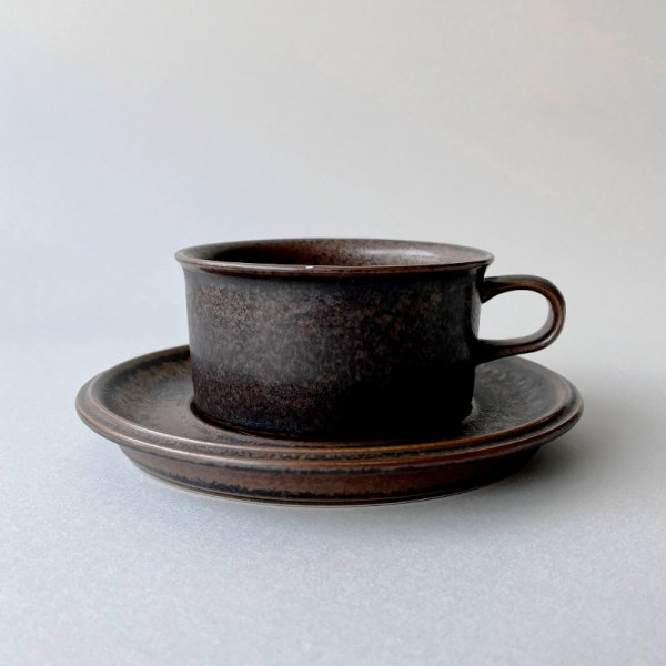 Arabia Ruska / Soup Cup & Saucer