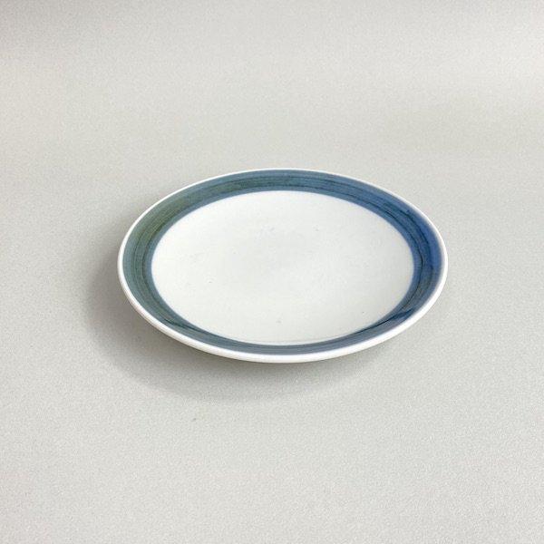 砥部焼 梅山窯 6寸皿