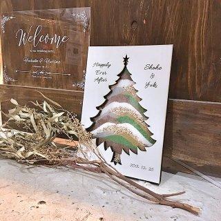 ホワイト サンドセレモニー ウェディングツリー クリスマスツリー