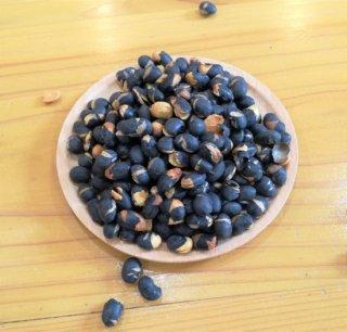ぽりぽり美味しい煎り黒豆【北海道産】400g