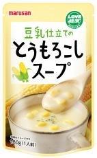(マルサン)豆乳仕立てのとうもろこしスープ180g