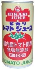ヒカリ トマトジュース 無塩<br>(国内産トマト)