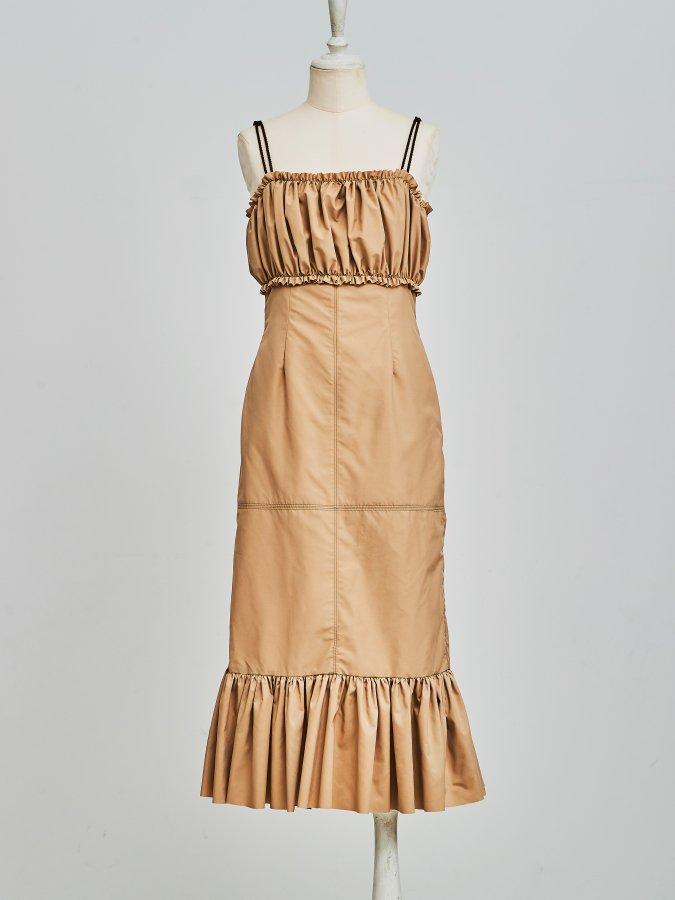 Bust Gathered Dress