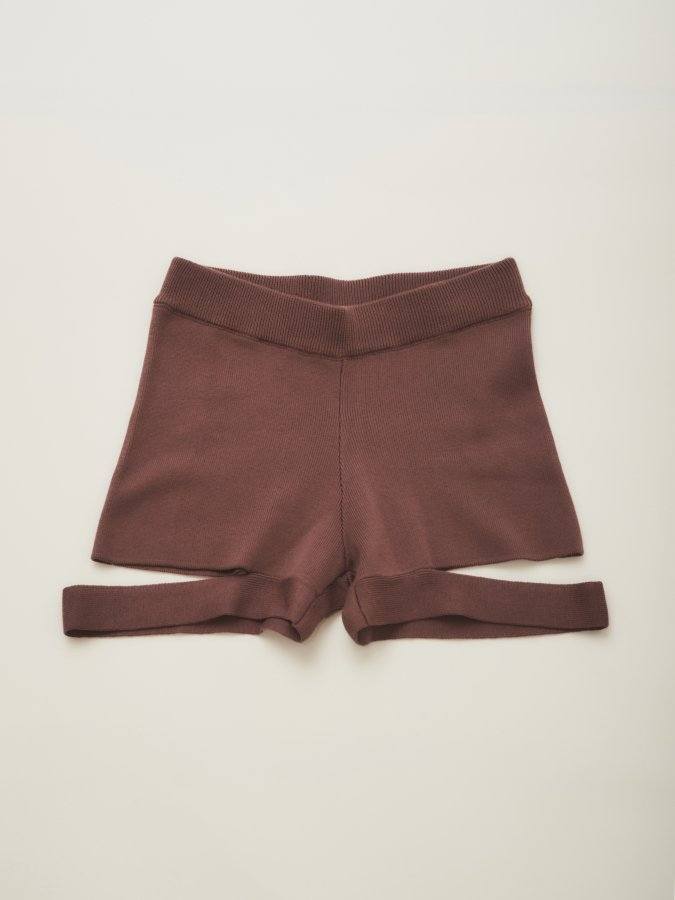 Hem Ribbon Knit Pants