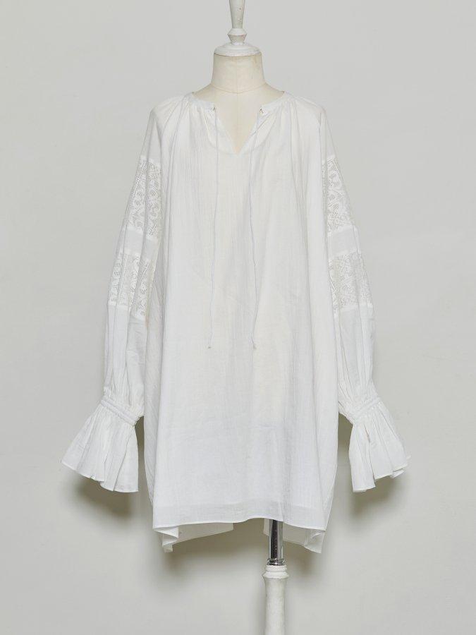 Cotton Bi-lace Tunic
