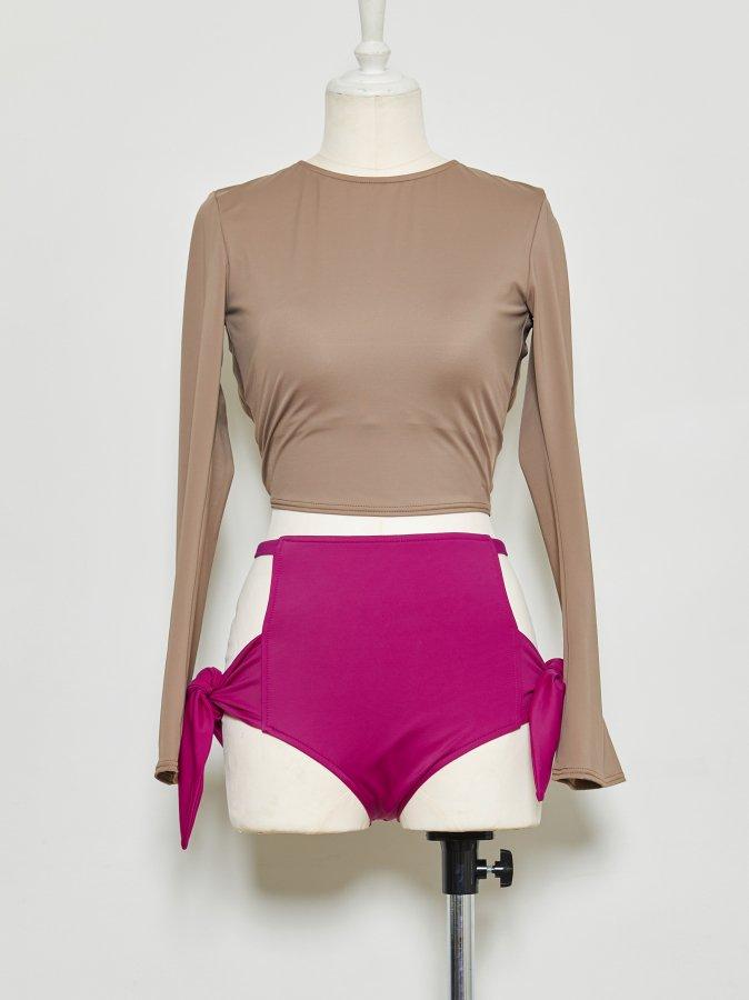 Bi-color Swim Suit
