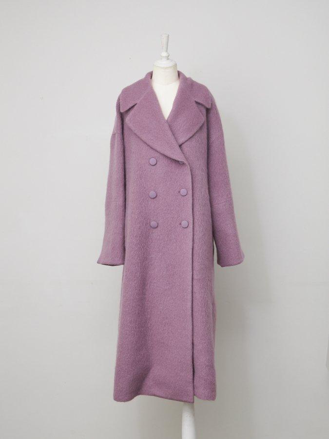 Mohair Shaggy Coat
