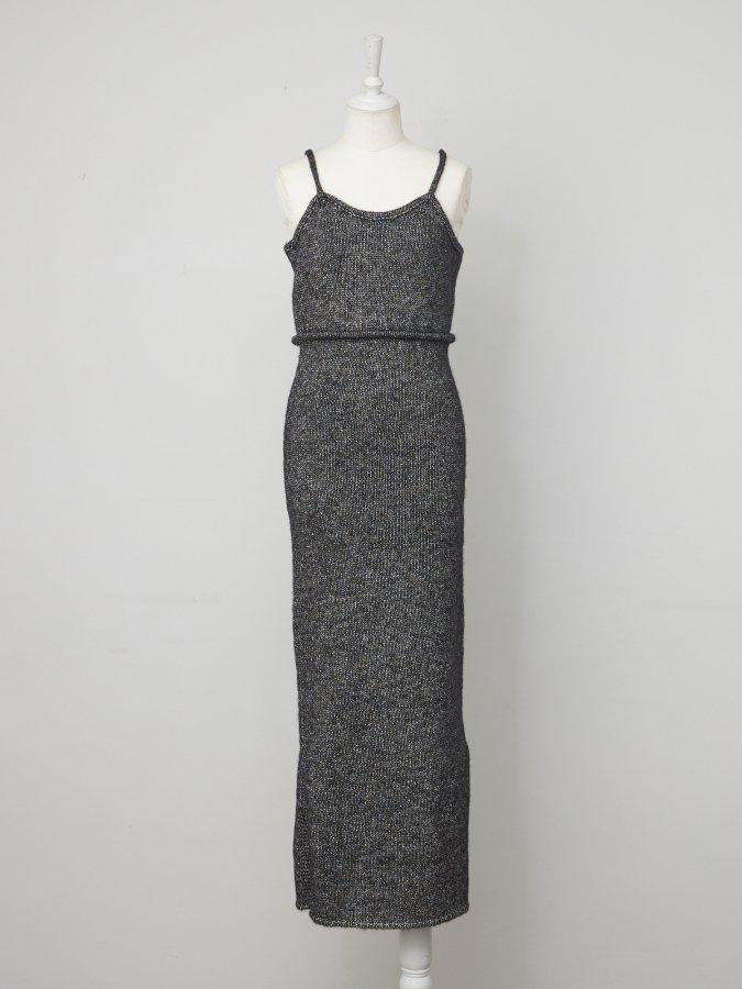 Glitter Knit Cami Dress
