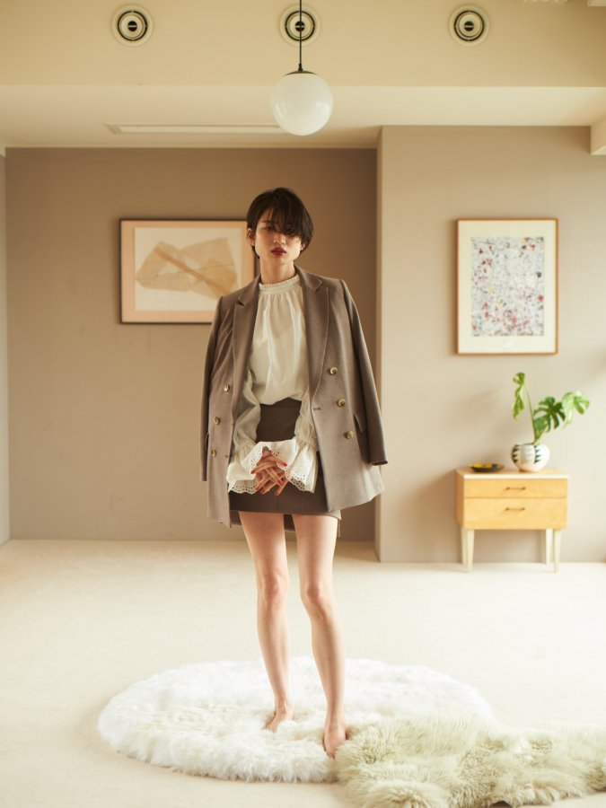 【Pre order】Double Tailored Jacket