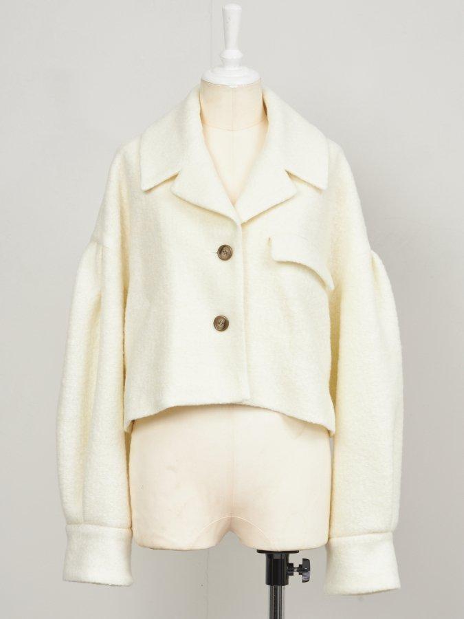 Loop Yarn Short Jacket