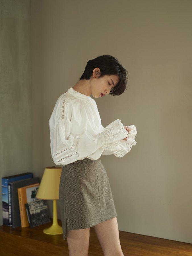 【Pre order】Irregular Mini Skirt