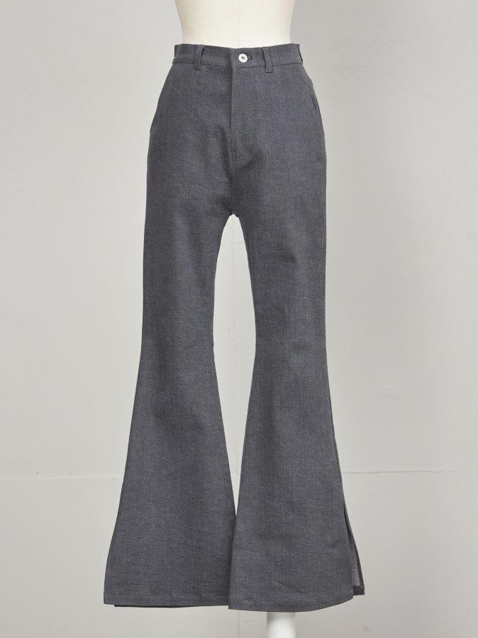【Pre order】Denim Flare Pants