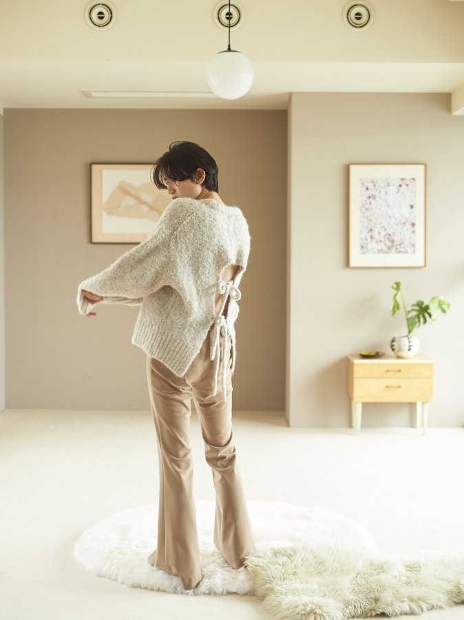Poodle Knit Pullover