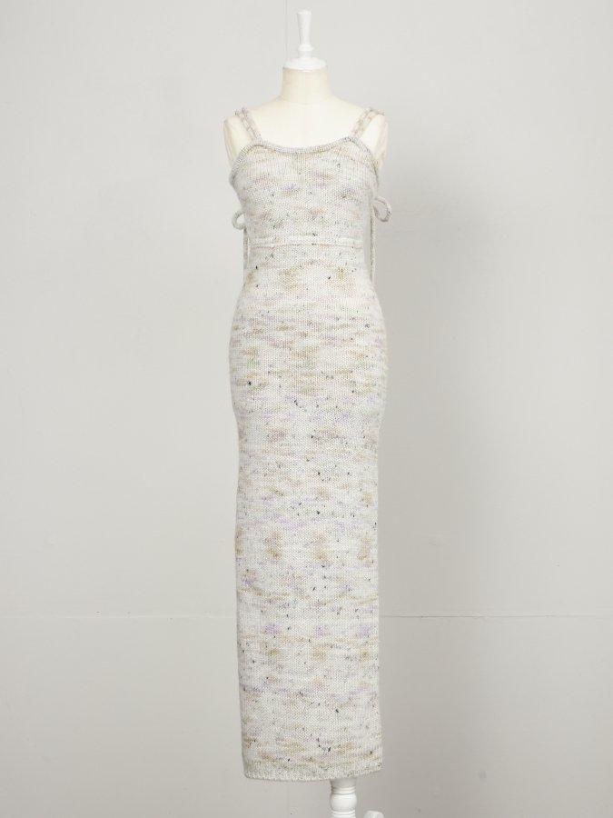 Mix Yarn Cami Dress