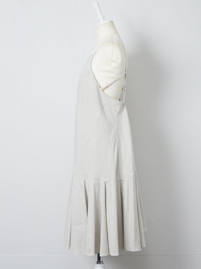 【Pre order】Back Open Cami Dress