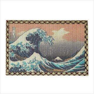 畳の絵葉書 富嶽三十六景 神奈川沖浪裏 1枚